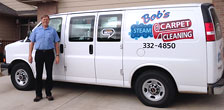 Bob's Fleet of Steam Carpet Cleaning Vans